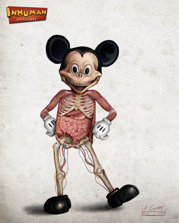 mickey_s_anatomy_by_alessandroconti-d5swnqz